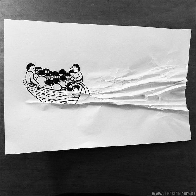 Illustrator dinamarquês cria seus desenhos 3D, que trazer para a vida 19