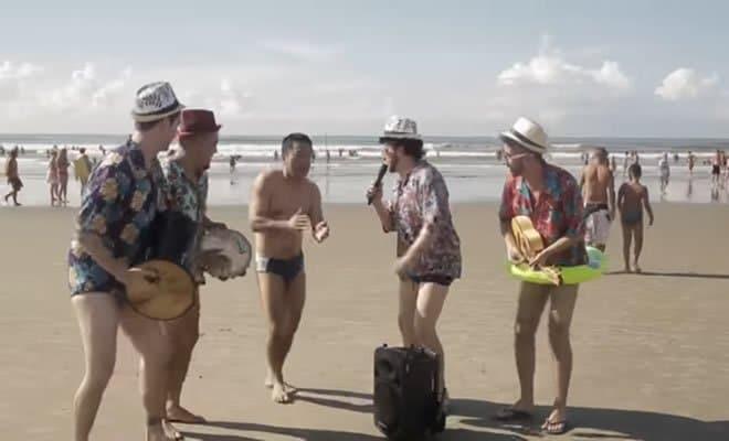 Pagode da Ofensa na Web - Na Praia! 5