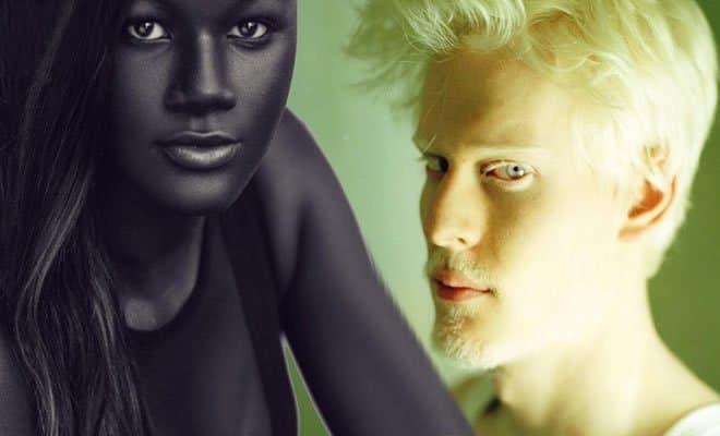 6 pessoas com uma cor de pele única 23