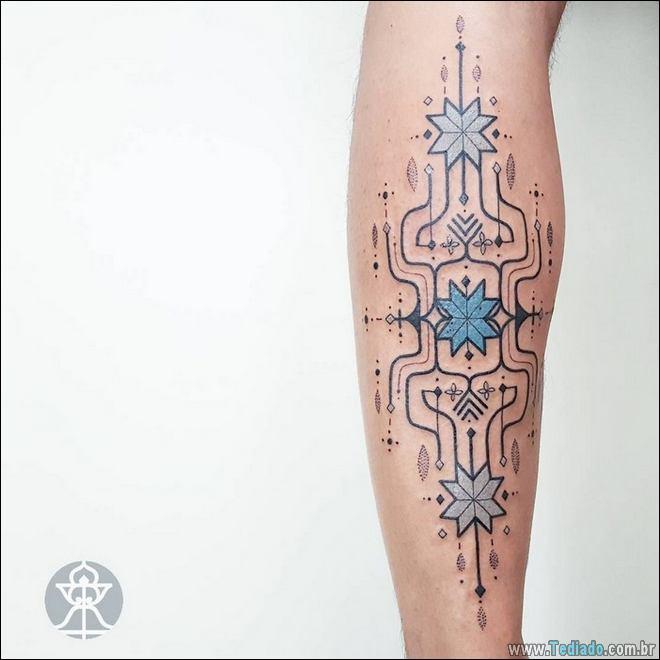 20 Tatuagens inpiradas na arte tribal da Amazônia 12