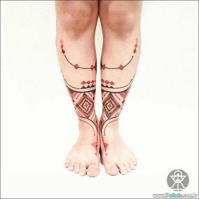 20 Tatuagens inpiradas na arte tribal da Amazônia 13