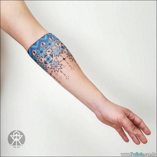 20 Tatuagens inpiradas na arte tribal da Amazônia 14