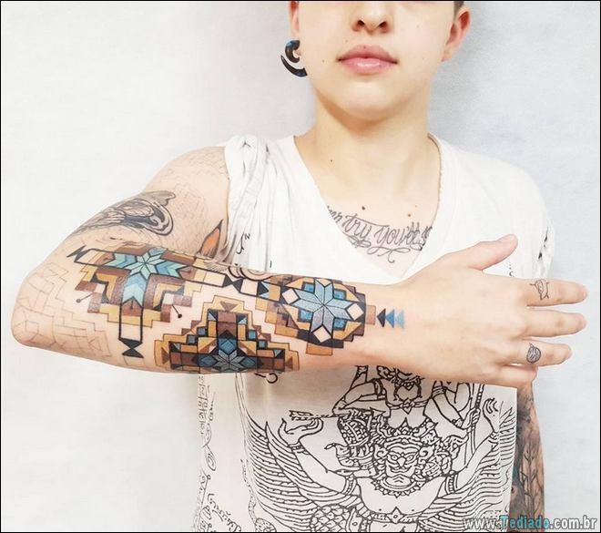 20 Tatuagens inpiradas na arte tribal da Amazônia 16