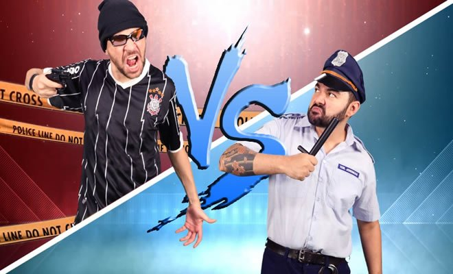 Batalha de rap: Bandido Vs Policial 4