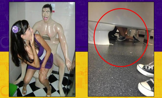 Você nunca mais vai ver um banheiro do mesmo jeito depois desse vídeo 2