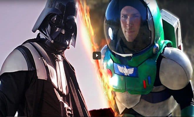 darth vader - darth vader - Darth Vader VS Buzz Lightyear