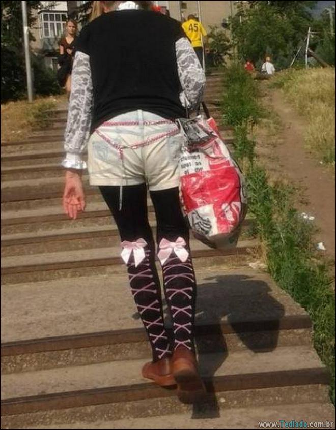 A estranha estilo de moda de algumas pessoas (23 fotos) 12
