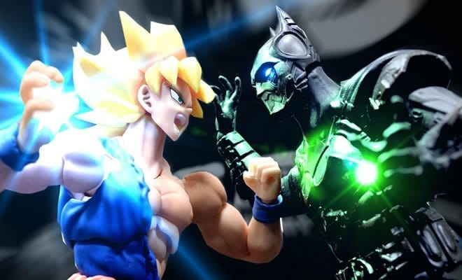 Stop motion – Goku Vs Batman