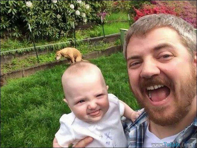 13 piores Selfies de pessoas que esqueceu de verificar o fundo 6