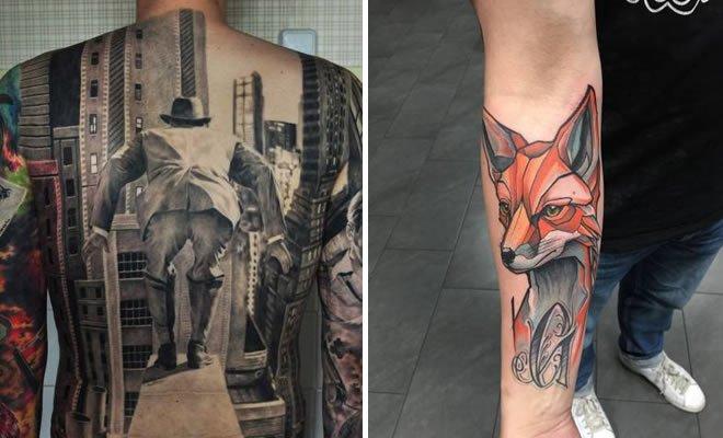 Quando o tatuagem vai além da perfeição (46 fotos) 5
