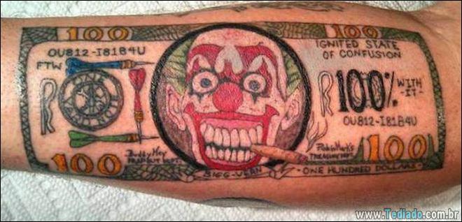 24 Tatuagens feias e estranhas já feitas 5