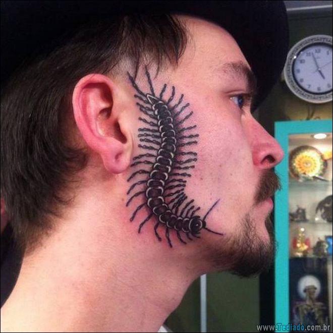 24 Tatuagens feias e estranhas já feitas 6