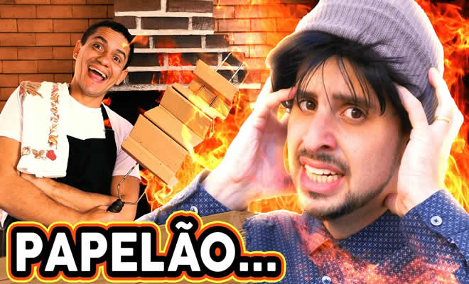 Cerne com papel – Paródia All By Myself - carne papel parodia
