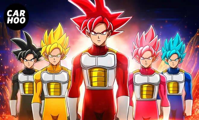 Goku Saiyan Rangers 4