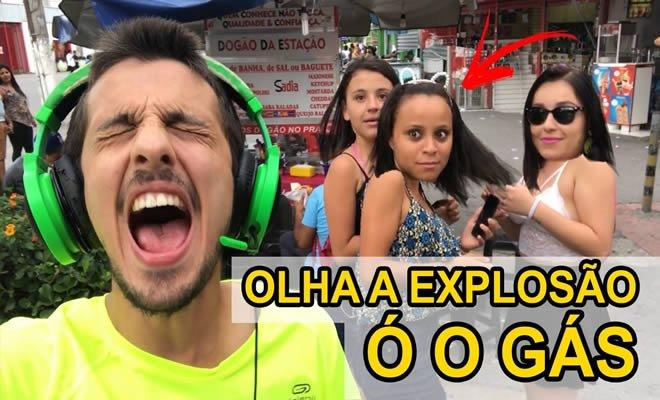 Olha a explosão - Cantando em público