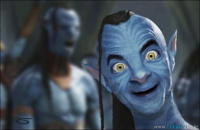 As pessoas estão photoshopado o Mr. Bean nas coisas, e é absolutamente divertido (20 fotos) 2