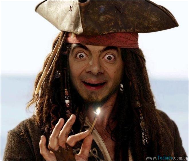 As pessoas estão photoshopado o Mr. Bean nas coisas, e é absolutamente divertido (20 fotos) 3