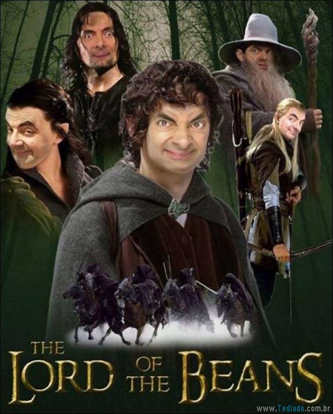 As pessoas estão photoshopado o Mr. Bean nas coisas, e é absolutamente divertido (20 fotos) 4