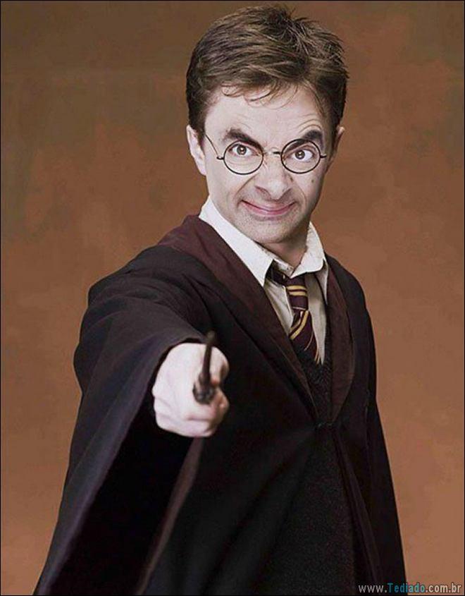 As pessoas estão photoshopado o Mr. Bean nas coisas, e é absolutamente divertido (20 fotos) 6
