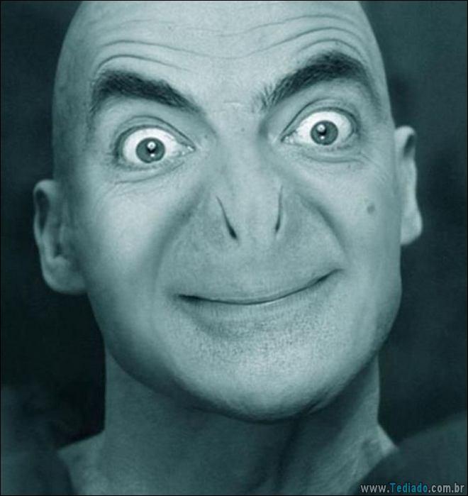 As pessoas estão photoshopado o Mr. Bean nas coisas, e é absolutamente divertido (20 fotos) 7
