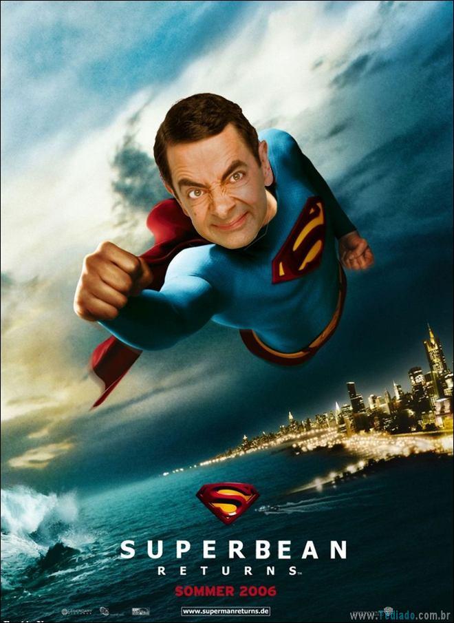 As pessoas estão photoshopado o Mr. Bean nas coisas, e é absolutamente divertido (20 fotos) 8