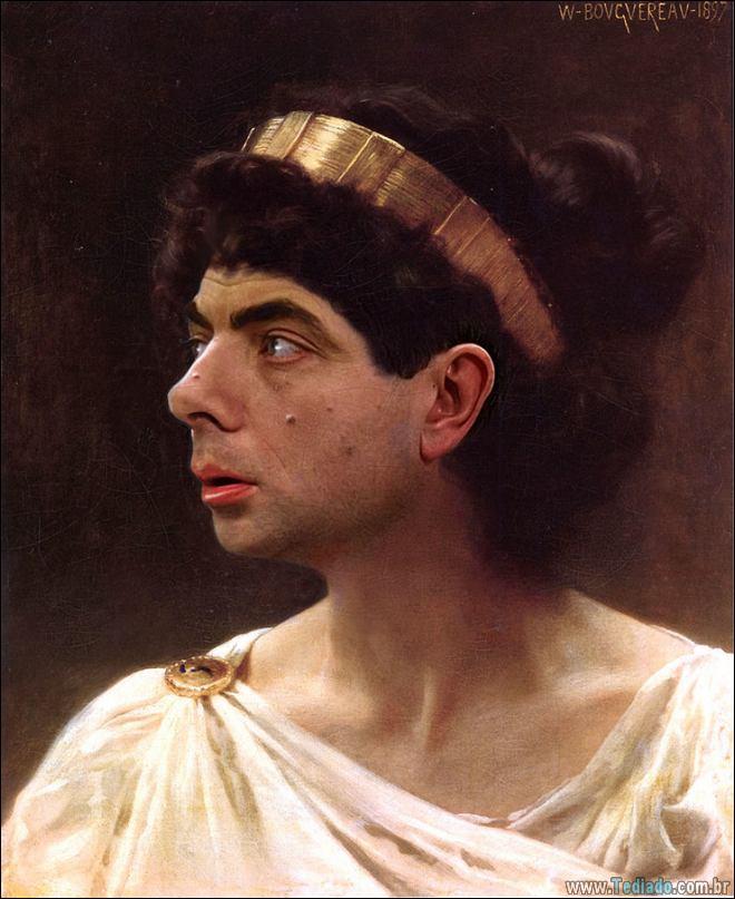 As pessoas estão photoshopado o Mr. Bean nas coisas, e é absolutamente divertido (20 fotos) 11