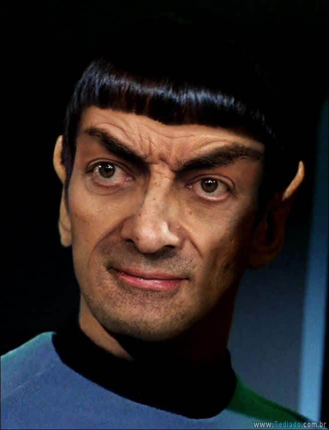 As pessoas estão photoshopado o Mr. Bean nas coisas, e é absolutamente divertido (20 fotos) 14