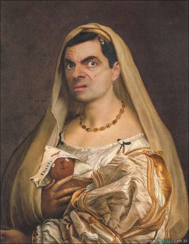 As pessoas estão photoshopado o Mr. Bean nas coisas, e é absolutamente divertido (20 fotos) 15