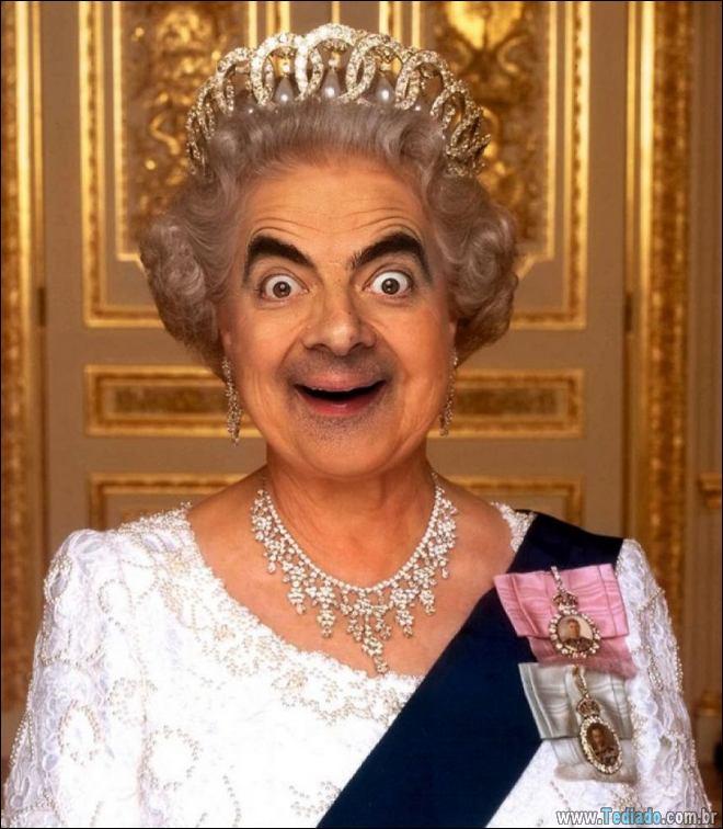 As pessoas estão photoshopado o Mr. Bean nas coisas, e é absolutamente divertido (20 fotos) 18
