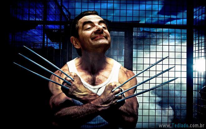 As pessoas estão photoshopado o Mr. Bean nas coisas, e é absolutamente divertido (20 fotos) 20