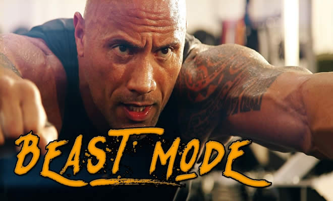 O treinamento mostro do Dwayne Johnson, o The Rock