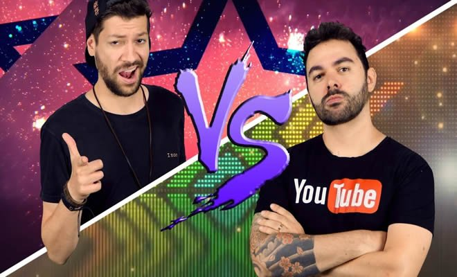 Youtuber nutella vs Youtuber raiz