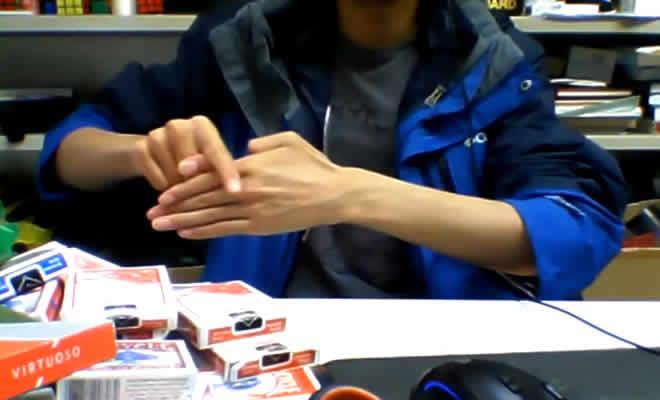 Evolução da mágica de tirar o dedo 5