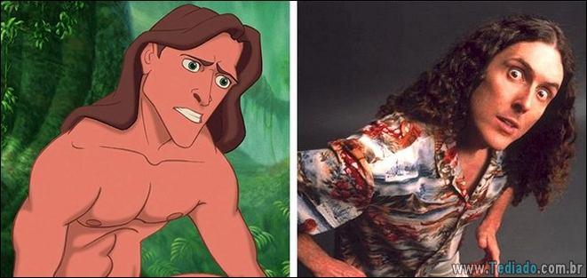 10 pessoas que são a imagem cuspida de personagens de filmes animados 8