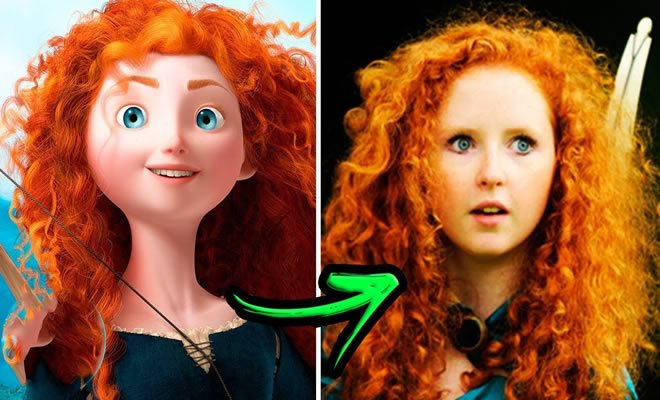 9 Princesas da Disney da vida real 7
