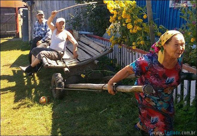Rússia: a pátria do estranho (32 fotos) 19