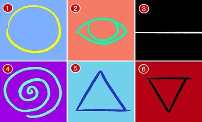 Escolha um dos 6 símbolos e veja o que ele revela sobre a sua personalidade 2