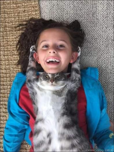 15 gatos e cães que não deixa seus seres humanos sozinhos 16