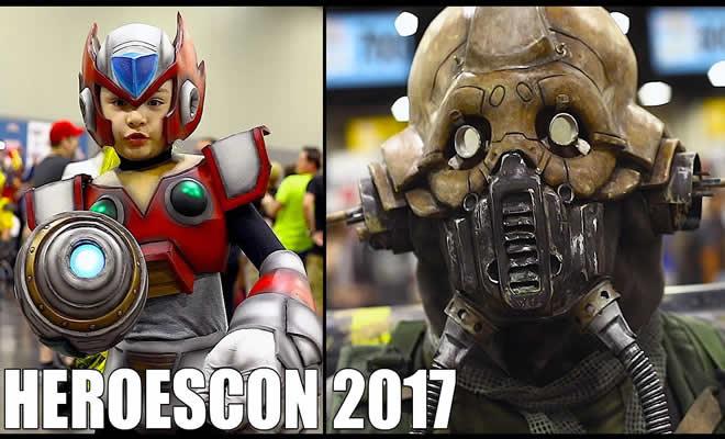HeroesCon 2017 - Com os melhores cosplayers 5
