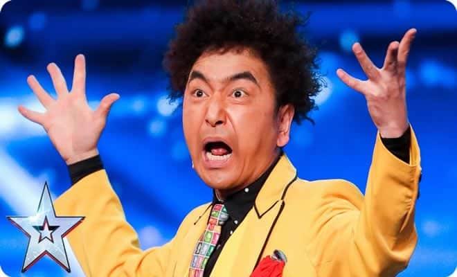 Mágico japonês maluco não teme o perigo e deixa todos aflitos no Britanis´s Got Talent 4