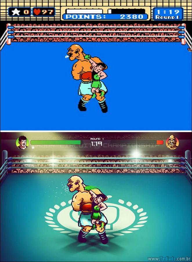 Um toque moderno em jogos clássicos do Nintendo (5 fotos) 4
