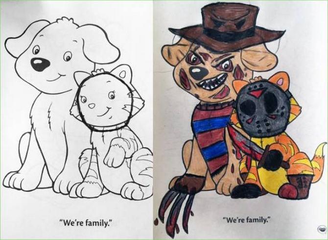 É por isso que livros de colorir não são para os adultos (24 fotos) 10