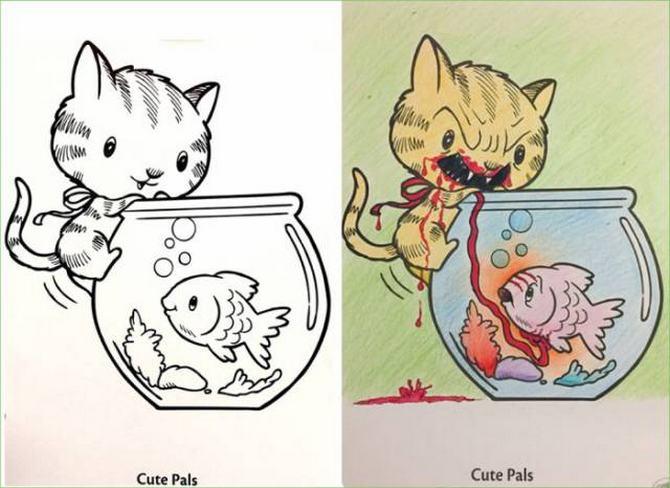 É por isso que livros de colorir não são para os adultos (24 fotos) 11
