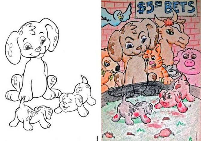 É por isso que livros de colorir não são para os adultos (24 fotos) 14