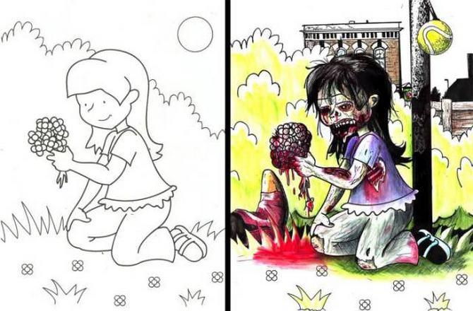 É por isso que livros de colorir não são para os adultos (24 fotos) 16