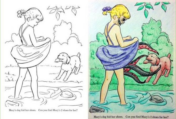 É por isso que livros de colorir não são para os adultos (24 fotos) 18
