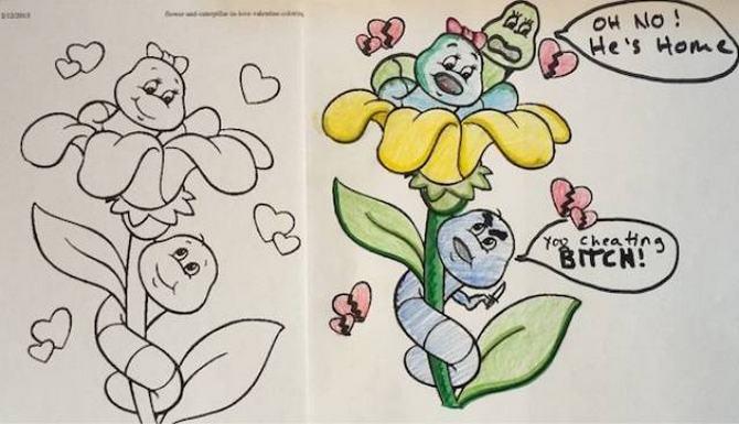 É por isso que livros de colorir não são para os adultos (24 fotos) 21