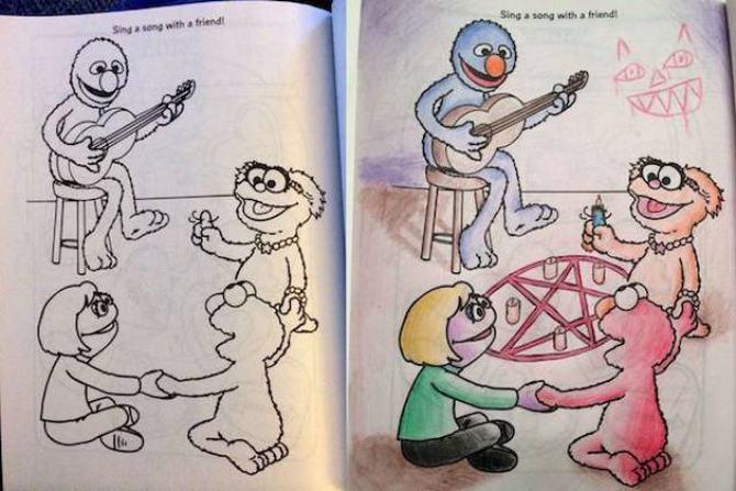 É por isso que livros de colorir não são para os adultos (24 fotos) 22