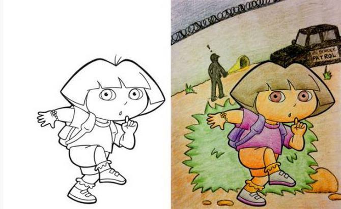 É por isso que livros de colorir não são para os adultos (24 fotos) 26