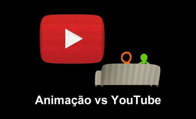 youtube - animacao vs youtuber - Animação vs YouTube